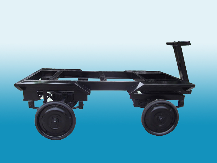 硬质胶轮移动车